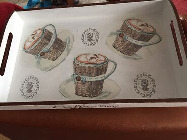 Lep dekupaž posluzavnik 39/25 za predah za kafu
