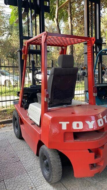 импреза 2011 в Кыргызстан: Кара автокара вилочный погрузчик форклифт Toyota  2тон 3метр. 4200$