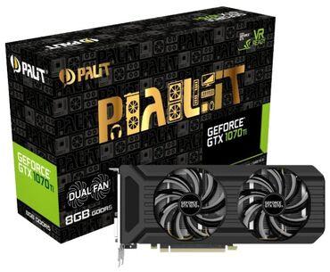 Продаю Видеокарту Palit GeForce GTX 1070 Ti 1607MHz PCI-E 3.0 8192MB