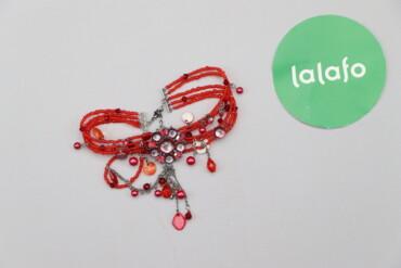 Украшения - Киев: Жіночий стильний браслет з бісеру     Стан дуже гарний