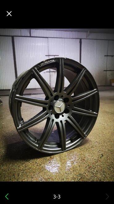 Продаю диски r19 AMG разно широкий в хорошем состоянии