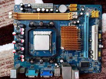 материнская плата бу в Кыргызстан: Продаю в связи с опгрейдом материнскую плату AMD Homkey HTM-266 DDR3