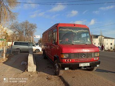 шины для грузовиков в Кыргызстан: Гигант мерседес бенс 711.Обьем 4 с турбиной.мост каробка большой.Шины