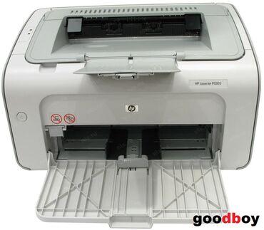 Принтер HP LaserJet P1005. Отличное состояние, работает отлично