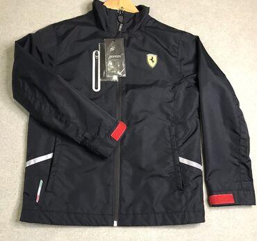 Uşaq geyimi və ayaqqabıları - Azərbaycan: Новая куртка для мальчика 7-8 лет. Покупалась в магазине Ferrari. Цена