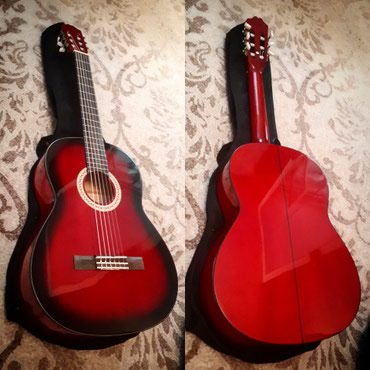 Xaçmaz şəhərində Rivertone lc-18 4/4 rb yeni klassik gitarası cantası ilə birgə