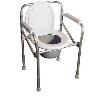 Продаём новый Кресло Туалет (Биотуалет).Складной, регулируется высота