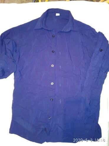 alfa romeo 90 в Кыргызстан: 44 р., рубашка (сорочка) муж., клас., с длин. рукавом, темно синего