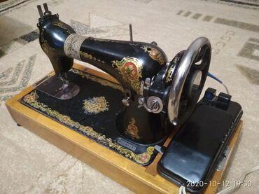 Электро швейная машинка - Кыргызстан: Продается раритетная швейная машинка, надёжная, проверенная временем
