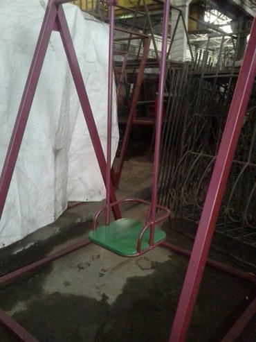 Качеля детская, одинарная.15000. Качели в Бишкек