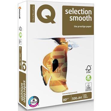 Бумага офисная А4 IQ SMOOTH 80 Г/М2 500 ЛИСТОВIQ selection smooth это