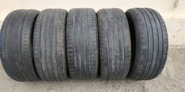 шины 21545 r17 в Азербайджан: 225/55/r17 tekce tekerler satilir normal veziyyetdedir.5 ededi