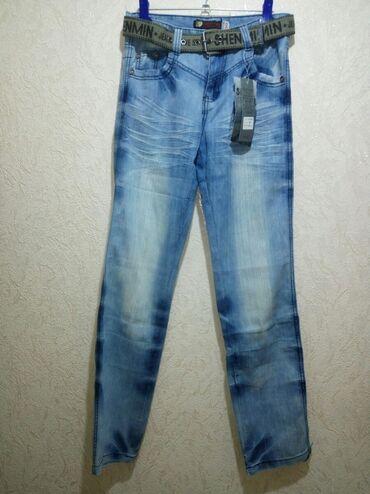 alfa romeo 90 в Кыргызстан: 30 р. Новые мужские (подростковые), джинсы, прямые, слегка зауженные