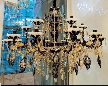 Шикарная красивая люстра в два яруса на 18 лампочек диаметр 95 см