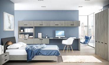 Bakı şəhərində İş otağı+yataq otağı dəsti Lazio