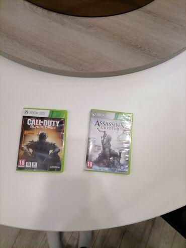 Xbox 360 & Xbox - Pancevo: Igrice su kao nove igrane par puta nisu oštećene jedna igrica je