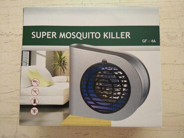 Κουτι εγκλωβισμου κουνουπιων.Λειτουργει με λαμπα led.Αχρησιμοποιητο με