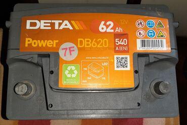 Na akumulator - Srbija: Na prodaju! Akumulator DETA Power 62Ah. 12V Starne snage 540A (EN)
