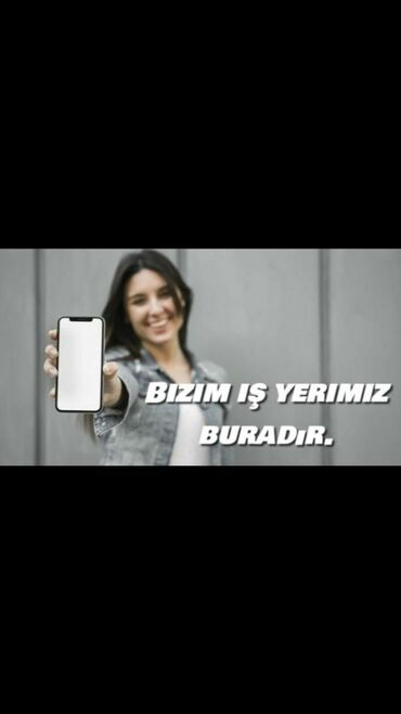 resm - Azərbaycan: Marketoloq. İstənilən yaş. Növbəli qrafik