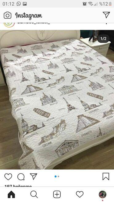 Tekstil - Azərbaycan: Cox amacli pakrival sintofondan hazirlanir hem yataq ortuyu hem divan