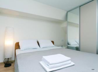 2х комнатная квартира в южн.мкр.  Уютно, чисто, комфортно. Евро ремонт