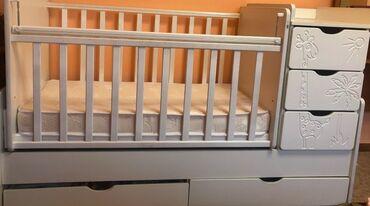 Детская кровать для детей до 5 лет почти новый использовался только 1