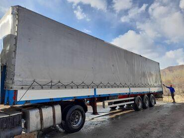 шины для грузовиков в Кыргызстан: Продаю полуприцеп ЛАК. Дисковые тормоза. Борт 90 см. Лентяйка. Шины 95