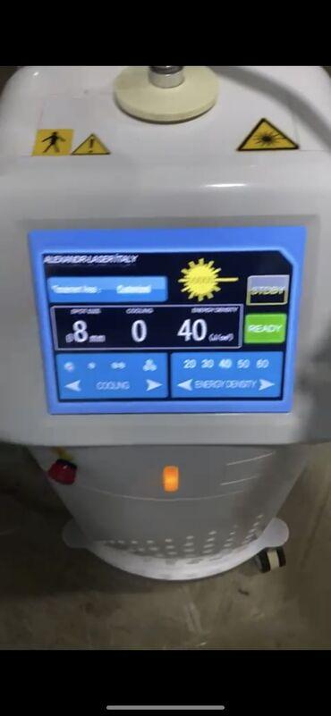 lazer aparati satilir in Azərbaycan   TIBBI AVADANLIQ: Tecili alexandrit lazer aparati satilir hec bir problemi yoxdu ustada