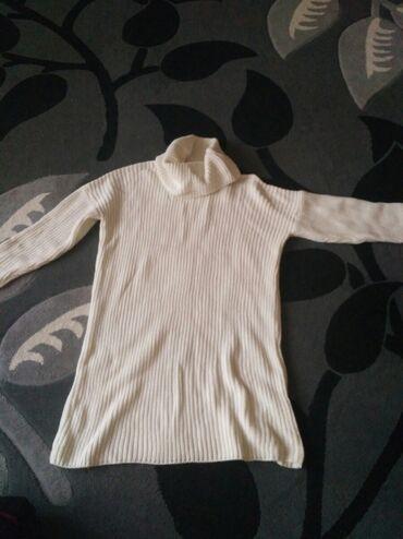 гайковерт купить бишкек в Кыргызстан: Туника turkey состояние отличное одевала 1раз. Вяженная размер