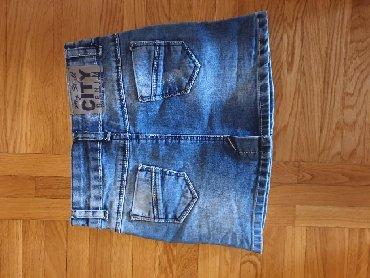 Ostala dečija odeća   Subotica: Teksas suknjica vel.8