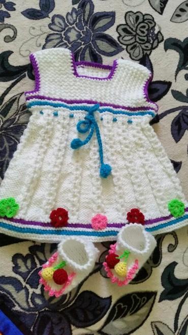 Рукоделие - Кыргызстан: Платья с пинеткой 850 с, детский кардиган 850 с комбинезончик 1000 с