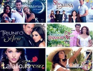 Najveci izbor spanskih, turskih, latinoamerickih sapunica i telenovela - Boljevac