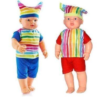 Lutke su 60cm visinesa telom od kvalitetne plastike,noge i ruke od