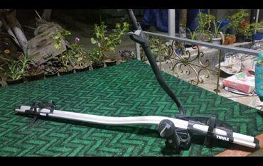Спорт и хобби - Пульгон: Thule вело крепление почти новая цена 6500сом, покупал за 150$ свое