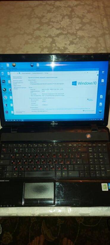 дисковод dvd rom в Кыргызстан: Продаю ноутбук fujitsu ah531 / gfo intel core i7,  озу 8гб hdd 465 гб