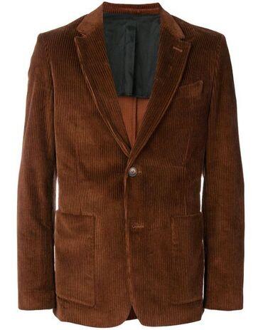 купить кота в бишкеке в Кыргызстан: Ami Paris FW18 Corduroy Two-Button Jacket.100% хлопок.Состояние: новый