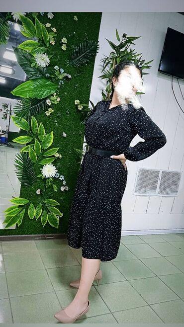 Женская одежда - Кыргызстан: Оптом платья свободного кроя. Размеры от 44 до50. Платья 140шт . Цена6