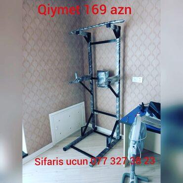 Universal turnikAcilib yigilandi bolt qayka ile250 kq 300 kq cekiye