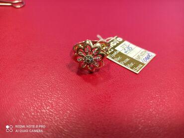 sergi iz zolota 375 proby в Кыргызстан: Продается золотое кольцо 375 проба. Размер 18-18,5 вес 2,4гр Цена
