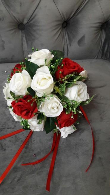 Свадебные аксессуары - Кыргызстан: Свадебныешикарные букеты по900 сом!