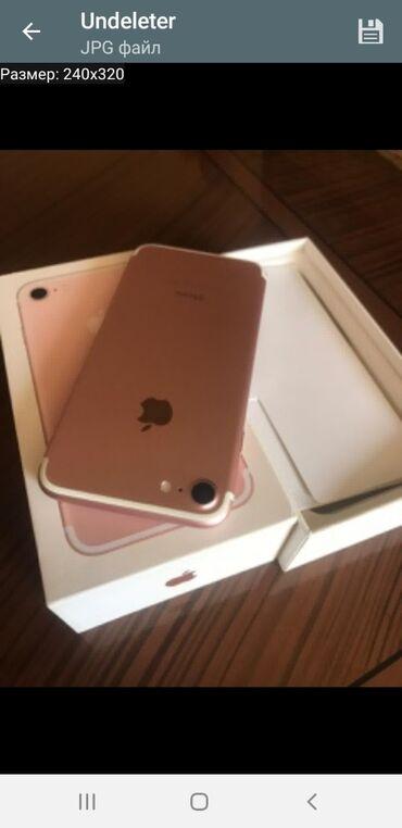 barter telefon - Azərbaycan: IPhone 7 32 GB Cəhrayı qızıl (Rose Gold)