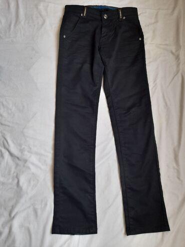 Мужкие брюки маленткого размера XS. Больше подойдёт школьникам и
