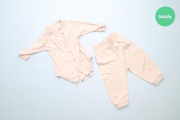 Дитячий комплект боді та повзунки     Довжина боді: 31 см Ширина плече