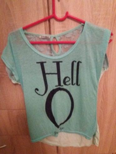 Majica zelena - Srbija: Kratka majica