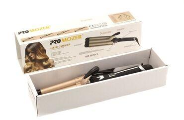 fast hair straightener в Кыргызстан: Щипцы для завивки волос ProMozer MZ-6619-3 Hair Curler - это современ