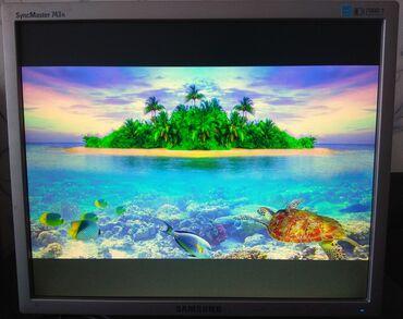 "Samsung SyncMaster 743N monitor 17"" 1280x1024 (5:4)Problemsiz"