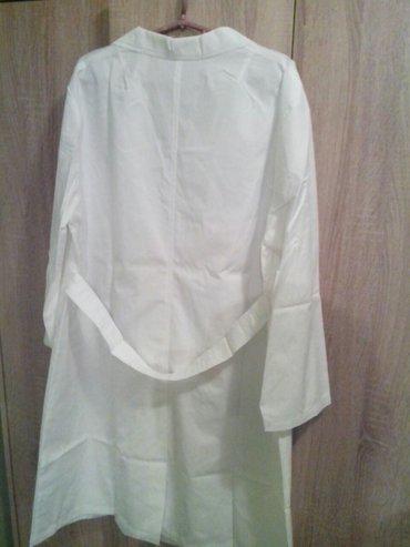 Ženska odeća | Zrenjanin: Zenski radni mantil br. 48 yumco nov sa etiketom. Duzina rukava 60cm