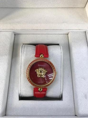 Bakı şəhərində Qadın Qırmızı Dəbli Qol saatları Versace