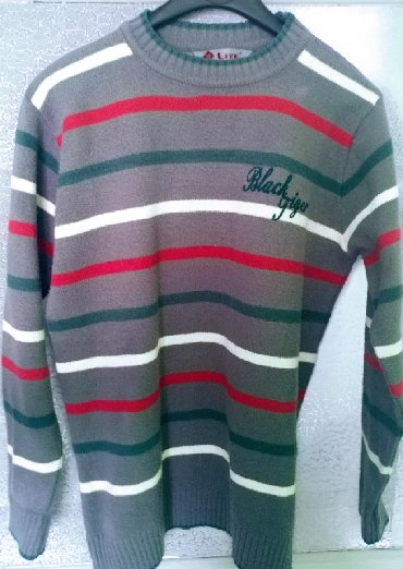 Muška odeća | Bor: Dzemper/bluza sareni, koriscen tj nosen par puta svega, L velicina