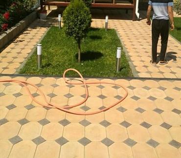 Ремонт и строительство - Бишкек: Брусчатка+плитки+бордюры... гарантия+качество доставка...